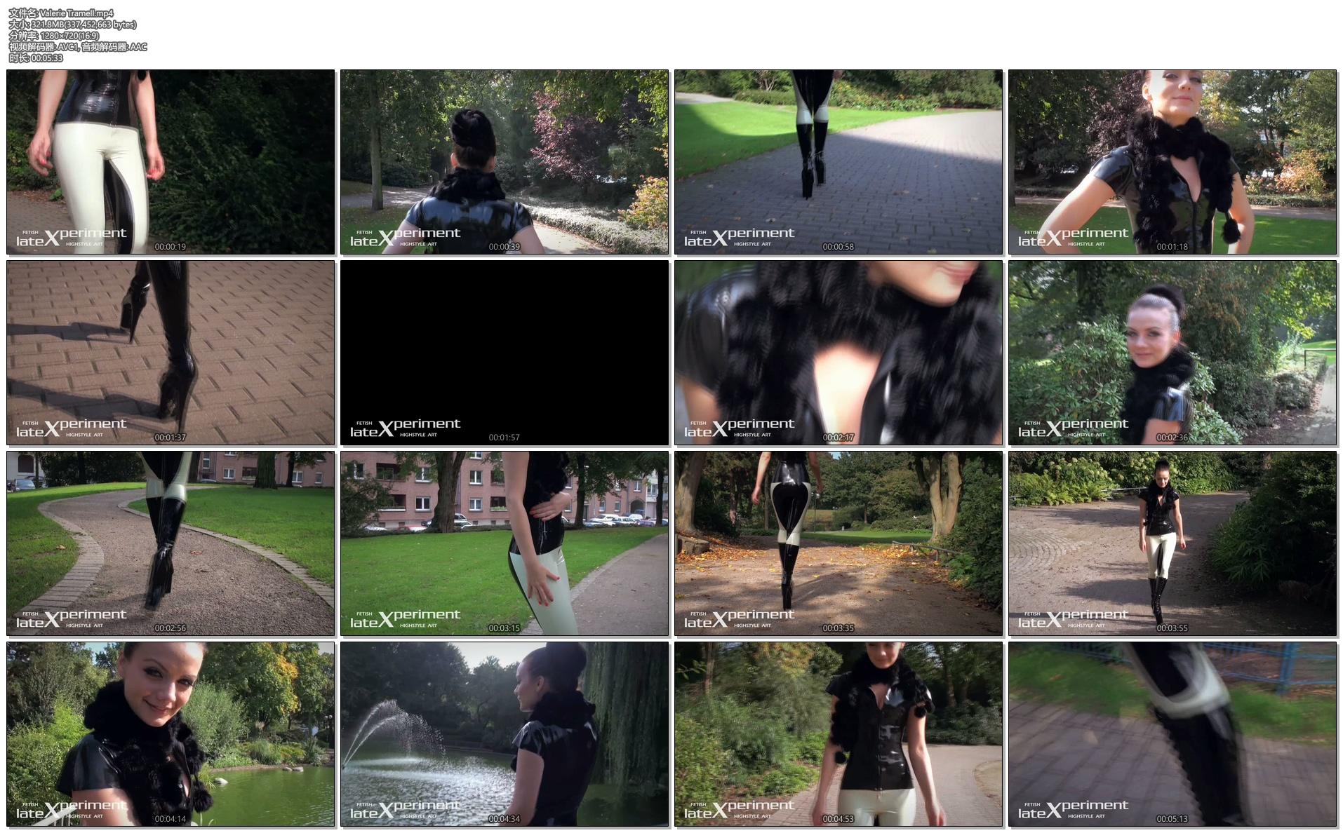 [乳胶衣写真] 妙龄少女乳胶衣长筒靴美腿风情万种-720p高清视频 [126P1V/473M]