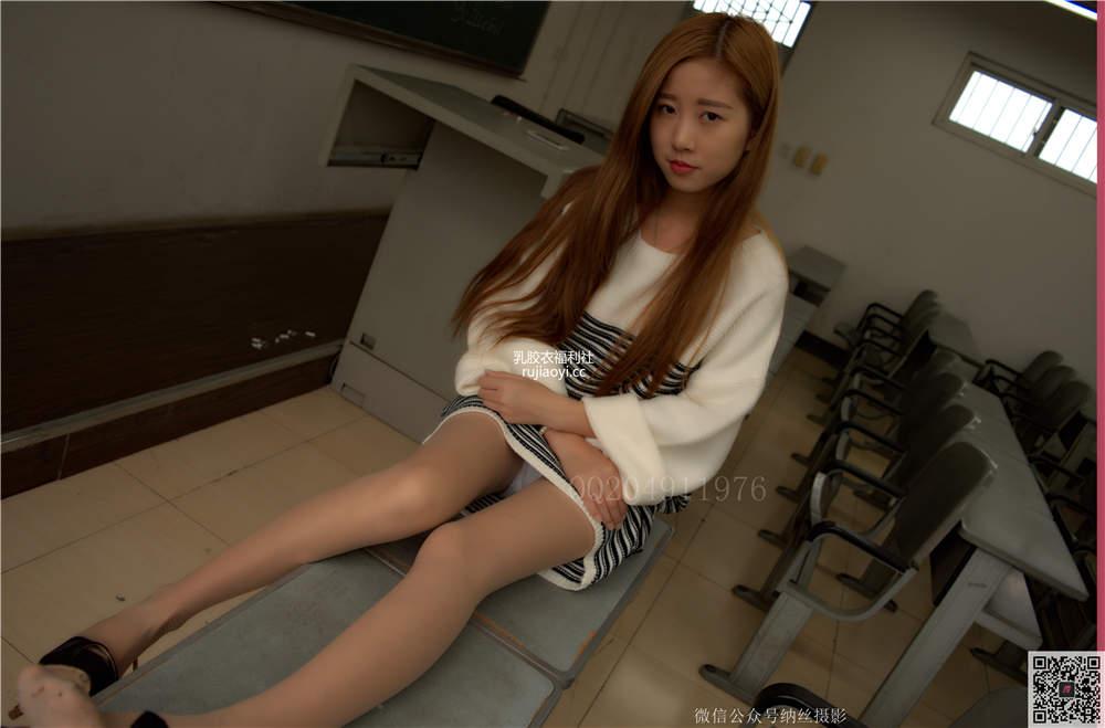 [纳丝摄影-独家资源] Vol.016 韩美珍 教室肉丝大长腿写真 [103P/1.43G]