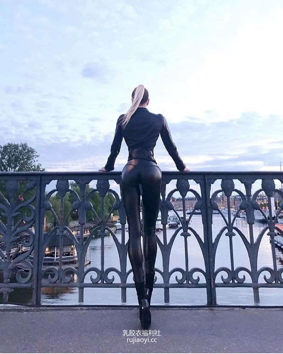 [免费资源] NO.005 欧美皮裤美腿小姐姐