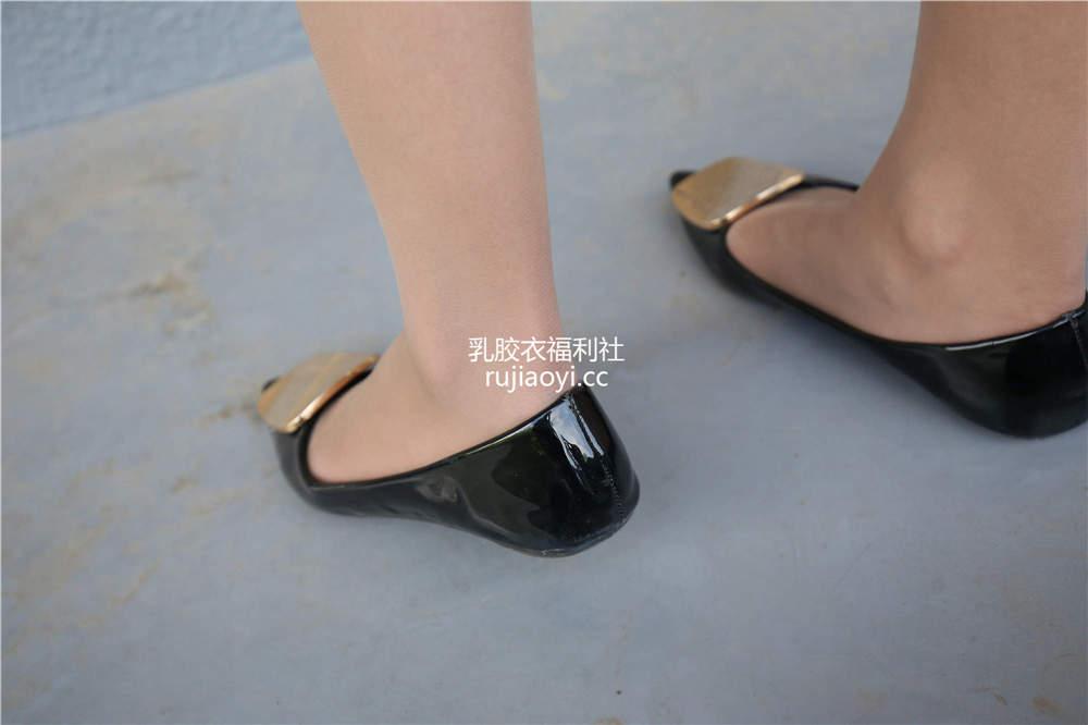 [SZFLK图集] Vol.004 肉丝制服黑色平底鞋 [222P1.63G]