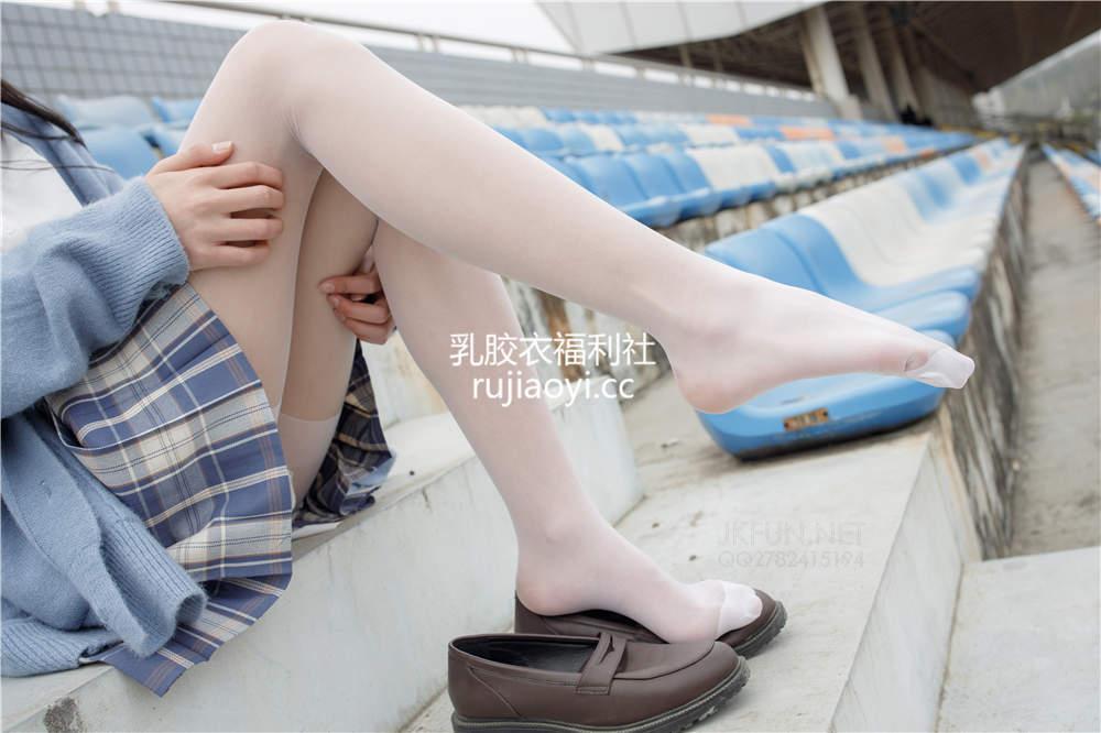[森萝财团] JKFUN-003 萌萌甜米妹子校园白丝惹眼 [150P1V3.02G]