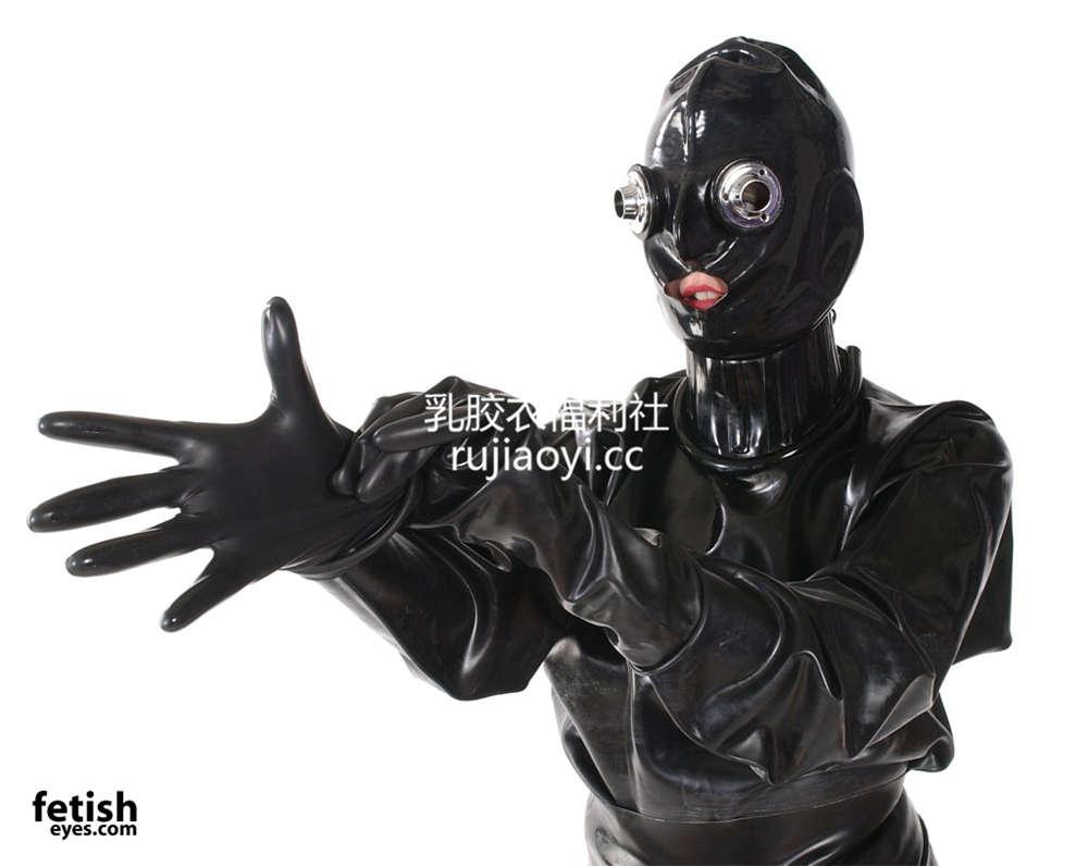[FetishEyes] 潜水乳胶衣呼吸面罩诱惑无比 [30P/3M]