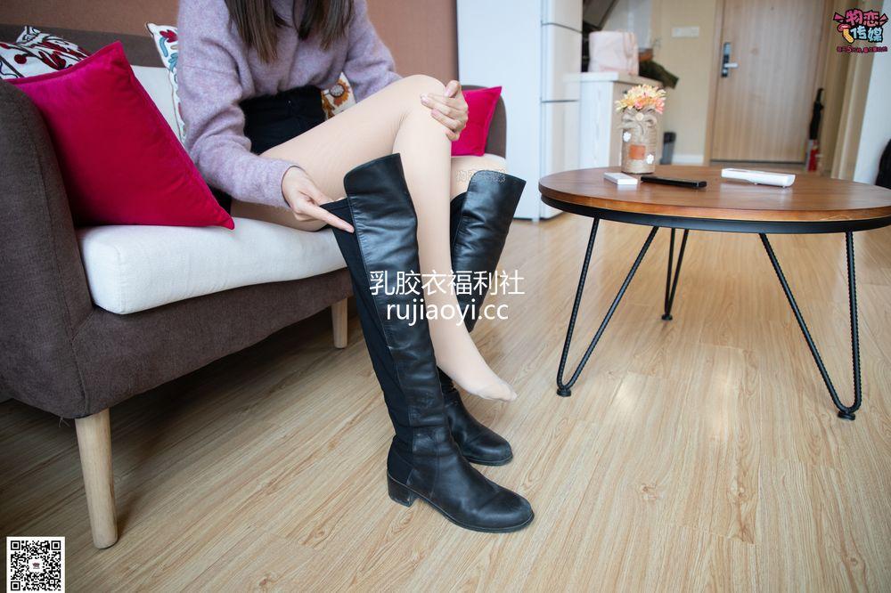 [物恋传媒] 073期:柠檬-过膝长靴与肉丝的美(过膝靴、肉丝) [126P1V1.12G]
