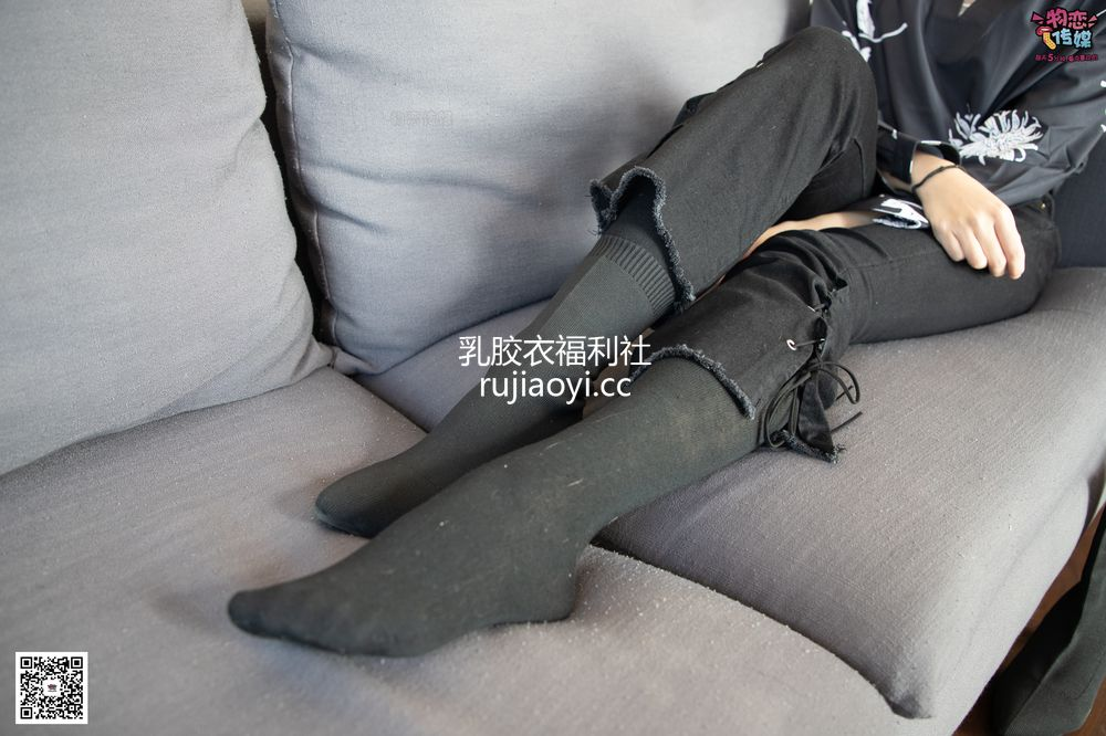 [物恋传媒] No.091 维维-梦幻原宿妆(袜子靴、黑色棉袜、裸足) [119P1V966M]