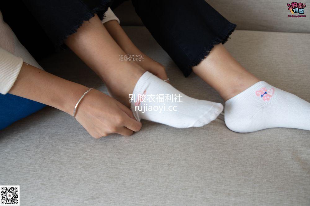 [物恋传媒] No.075 岚岚-语笑嫣然,隔壁班女同学感觉。(帆布鞋、白色棉袜、裸足) [160P1V1.03G]
