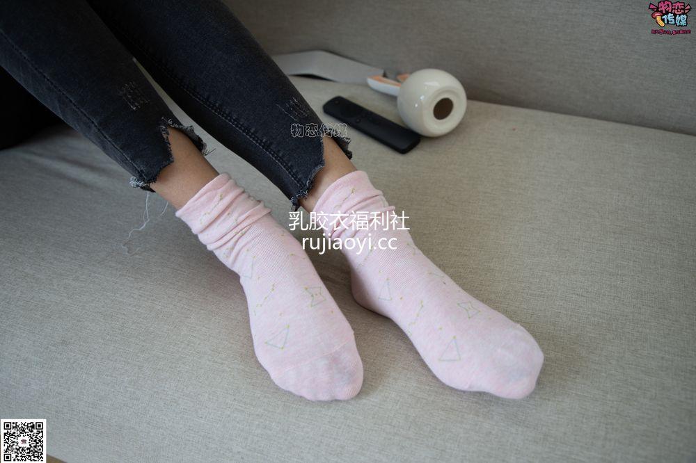 [物恋传媒] No.069 腾腾-小兔子乖乖,你来猜猜。(粉色棉袜、裸足) [139P1V864M]