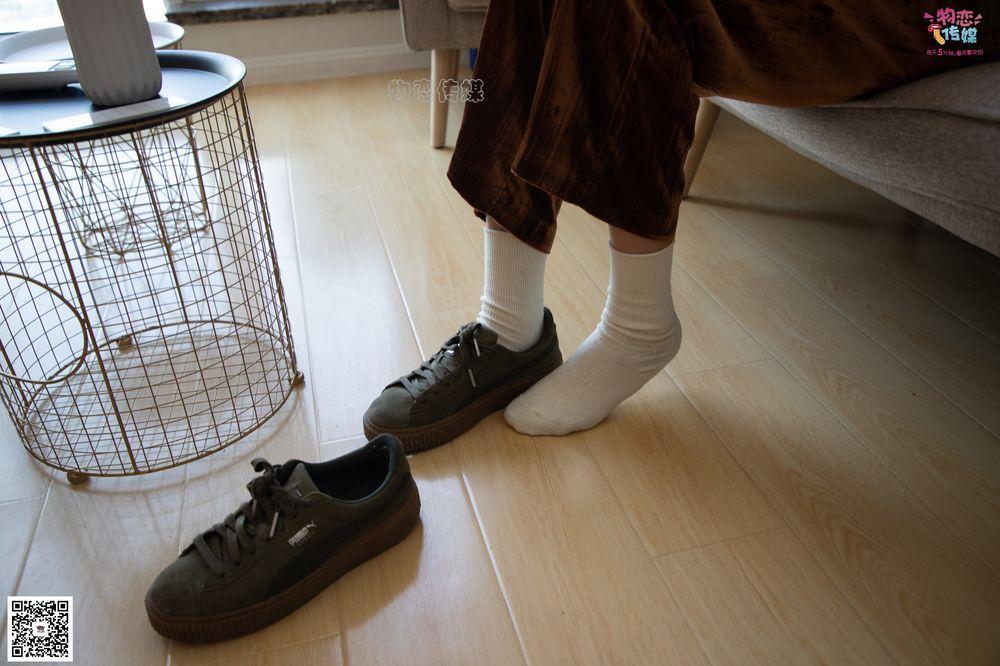 [物恋传媒] No.078 远柔-丝绒公主梦(puma板鞋、白色棉袜、裸足) [203P1V1.22G]