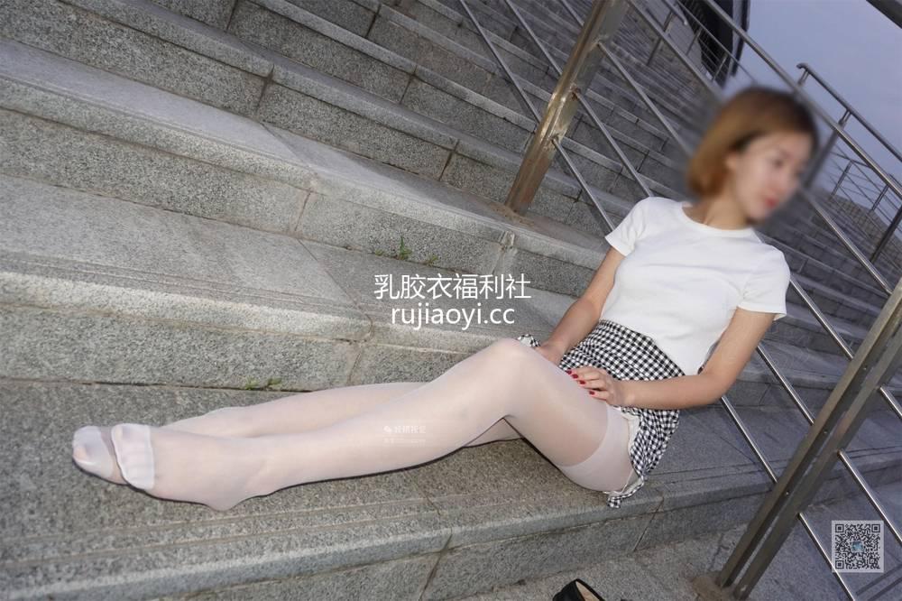 [妖精视觉]  小璇 白丝袜 闻足礼