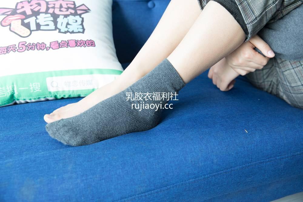 [物恋传媒] 120期:小晴天-飞跃的文艺风(灰色棉袜、浅黄色棉袜、裸足) [156P1V3.03G]