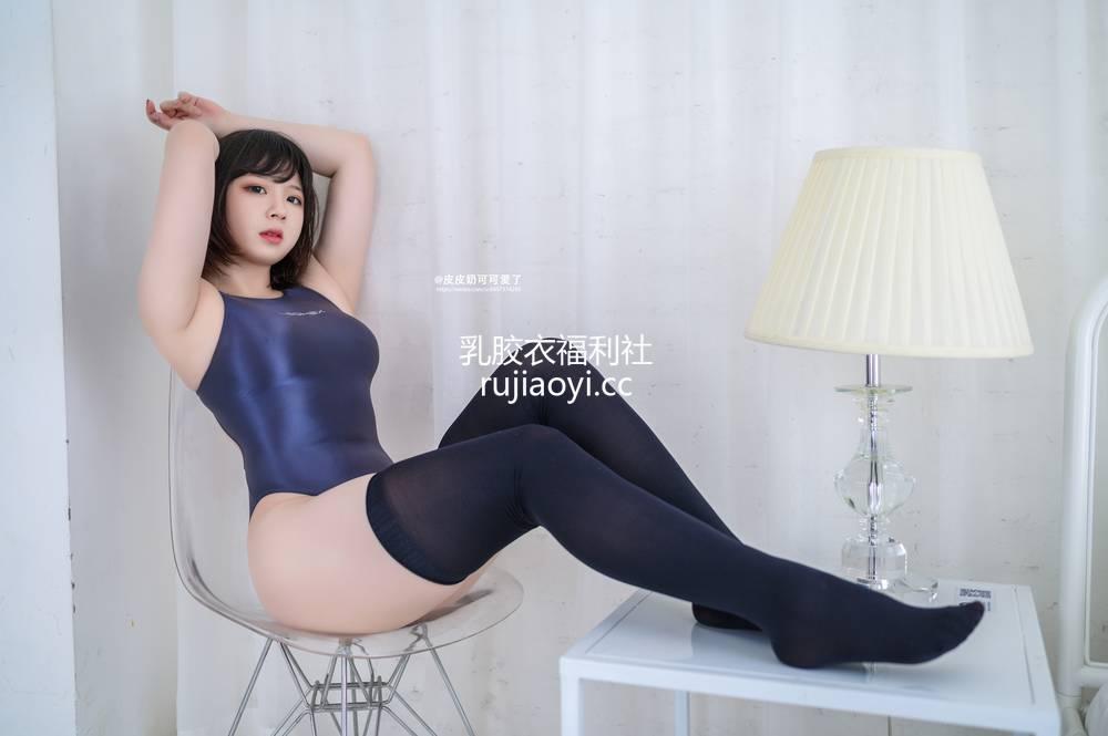 [网红杂图] 皮皮奶 - 深蓝死库水 [50P416M]