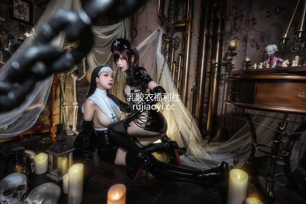 [网红杂图] 三刀刀Miido - 圣修女 [23P734MB]