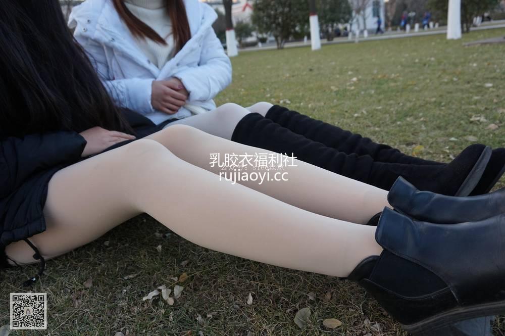 [SIEE丝意] NO.042 曦曦&思思~夕阳丝聊 [91P126M]