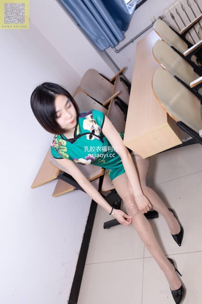 [山茶摄影Iss] NO.089 小阳阳的旗袍筒袜 [99P85MB]