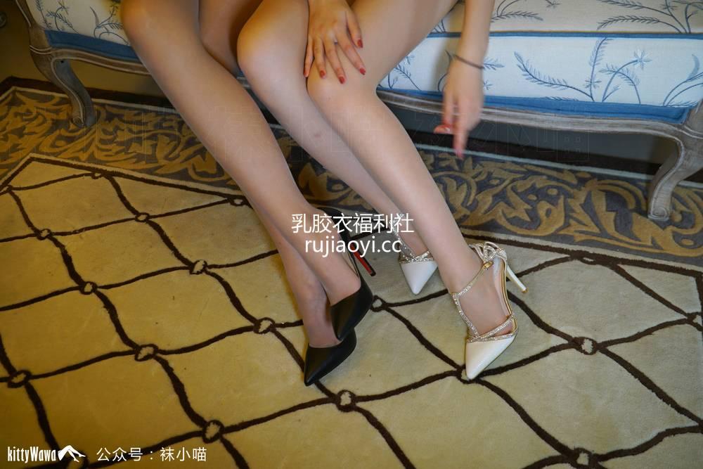 [袜小喵] - KT057《闺蜜大战》 [58P407M]
