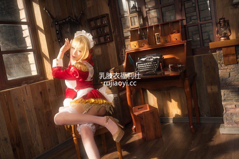 [网红杂图] 爱老师_PhD - 尼禄YD女仆 [27P386MB]