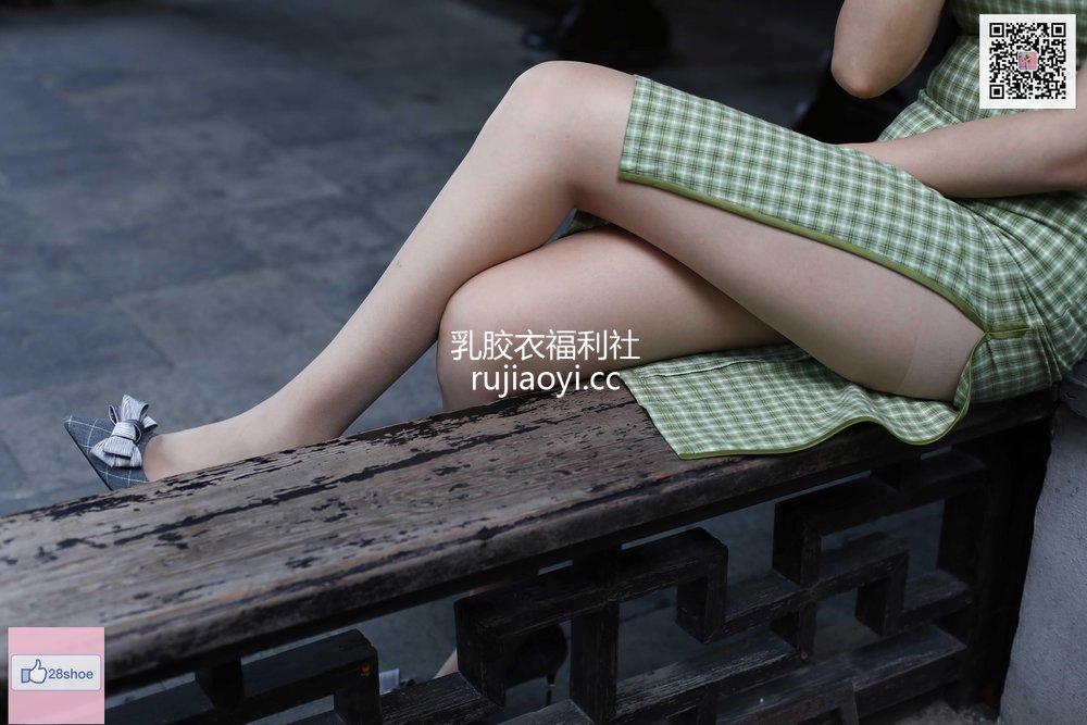 [奈丝写真] NO.151 乐乐-修长美腿配肉丝 [46P61MB]
