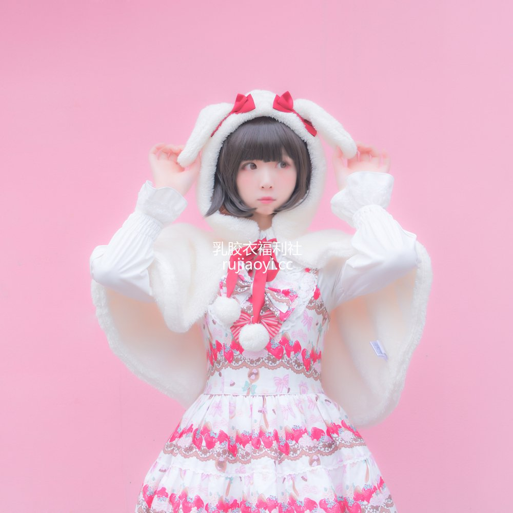 [网红杂图] 闪月半 - Lolita草莓 [4P4MB]