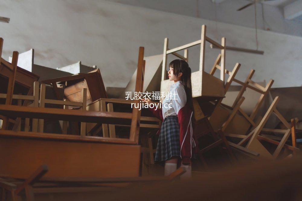 [网红杂图] 桜桃喵 - 废弃教室 [38P717MB]