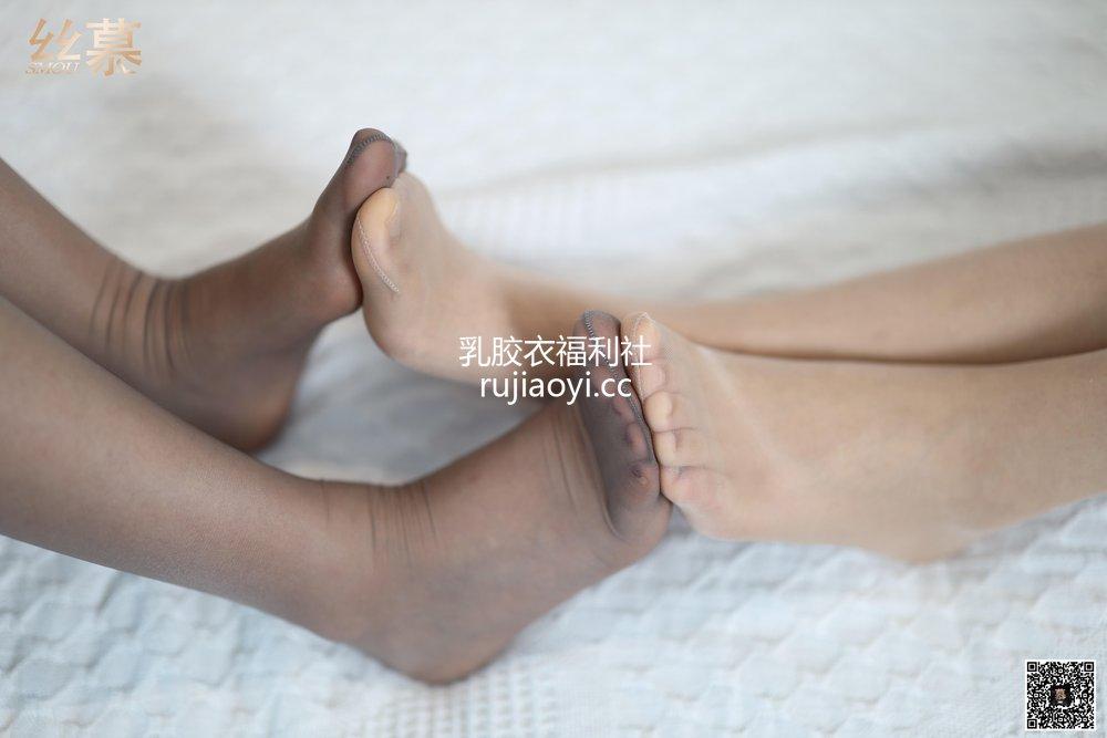 [丝慕GIRL] TX042 米朵&新模《旗袍双美》 [89P172MB]