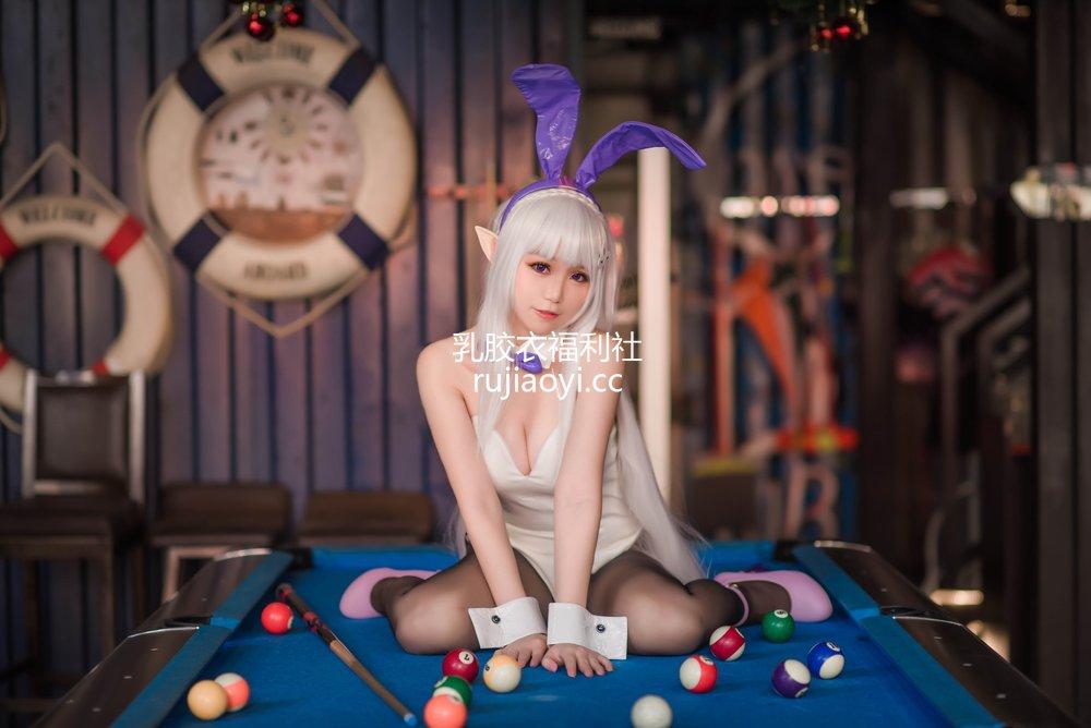 [网红杂图] Yoko宅夏 - 艾米莉娅 兔女郎 [10P54MB]