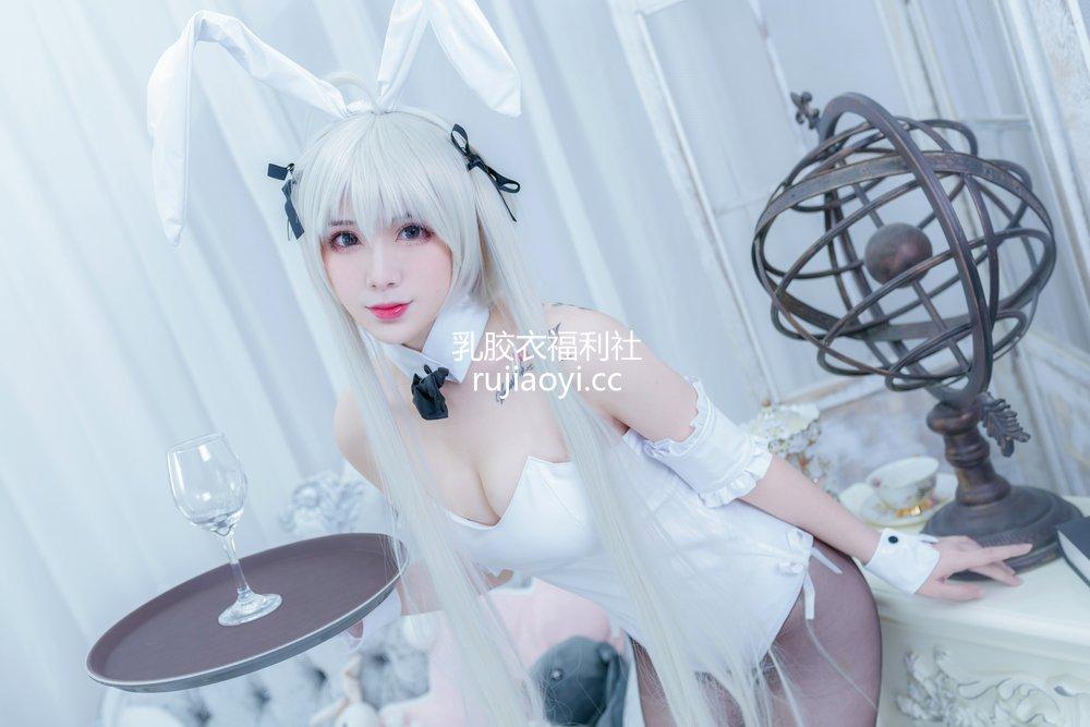 [网红杂图] 羊大真人 - 穹妹兔女郎 [13P226M]