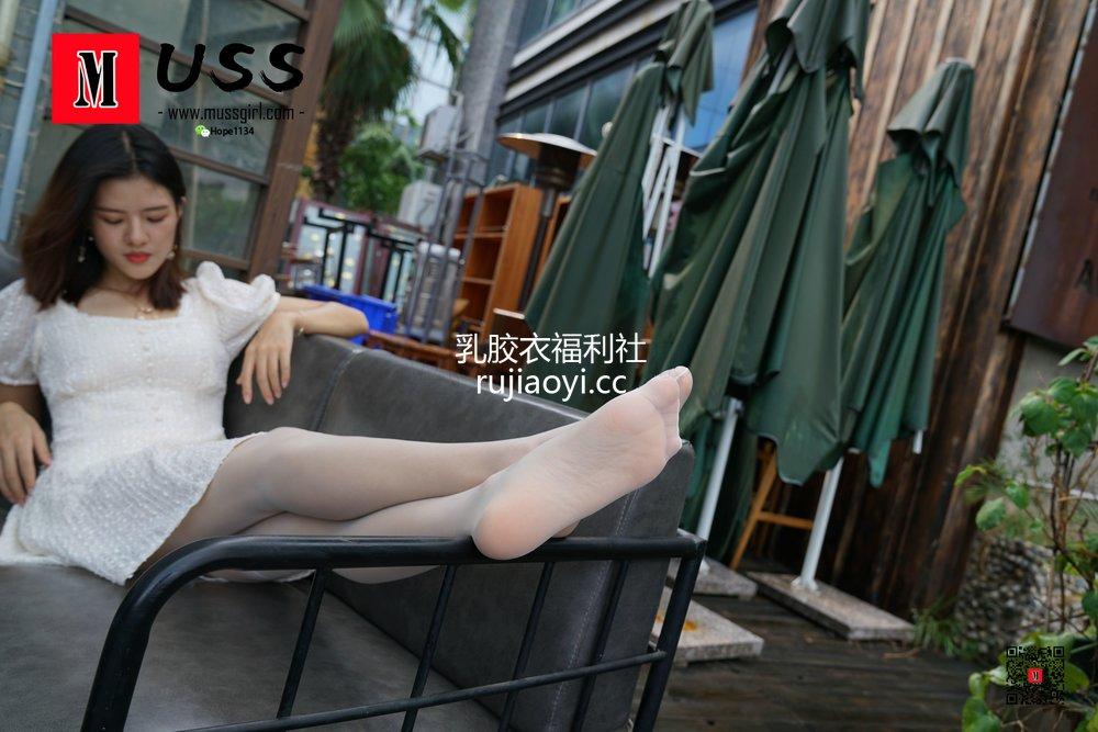 [MussGirl慕丝女郎] No.017 白衣护士与白丝的绝美邂逅小贤 [99P216MB]