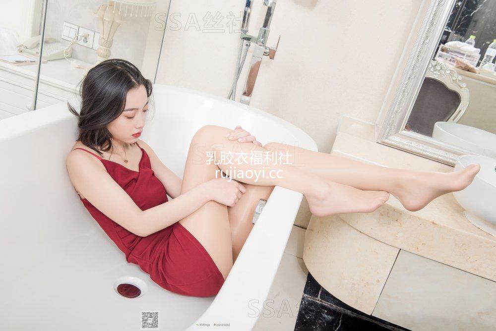 [SSA丝社] 超清写真 No.080 大大浴室迷情肉色油亮丝袜 [129P1.34GB]