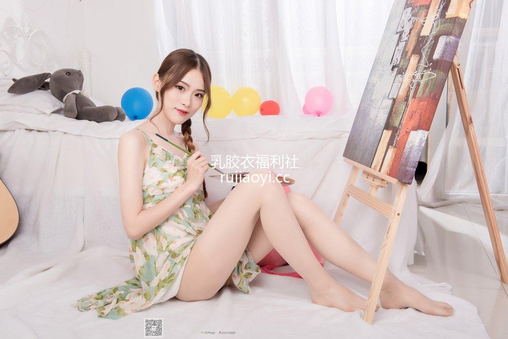 [SSA丝社] 超清写真 No.022 琪琪 化身灵魂画师肉丝美足 [99P971MB]